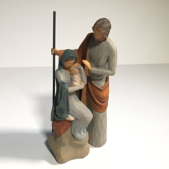Willow Tree Lordi Holy Family Figurine 2010
